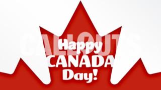 Canada Day Celebration Poster 2 Landscape Text