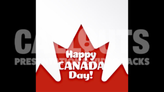 Canada Day Celebration Poster 2 Square Text