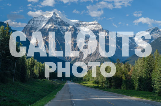 Road and Mount Robson