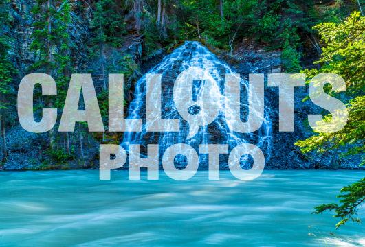 Waterfall, Jasper National Park