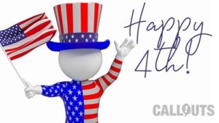 Happy 4th, with Creative Bonus Assets
