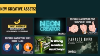 New Camtasia Templates, Hand Graphics, Neon Kit, and more…