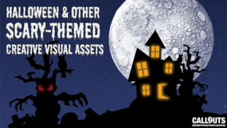 Halloween and other Scary-Themed Creative Visual Assets