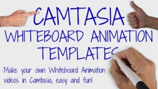 Camtasia Whiteboard Animation Template Collection