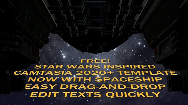 Free Star Wars-Inspired Camtasia 2020 Template Updated