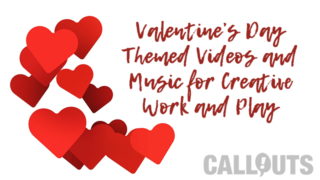 Love is in the air. New Valentine's Day Creative Assets!