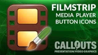 Media Player Film Strip Icons