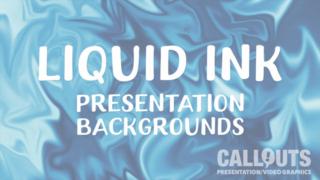 Liquid Presentation Backgrounds