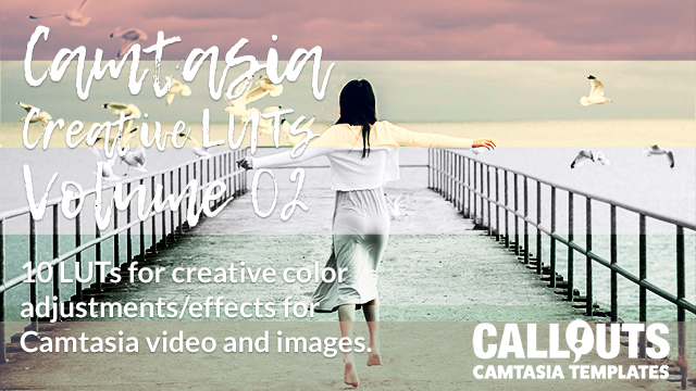 Camtasia Creative LUTs Volume 02